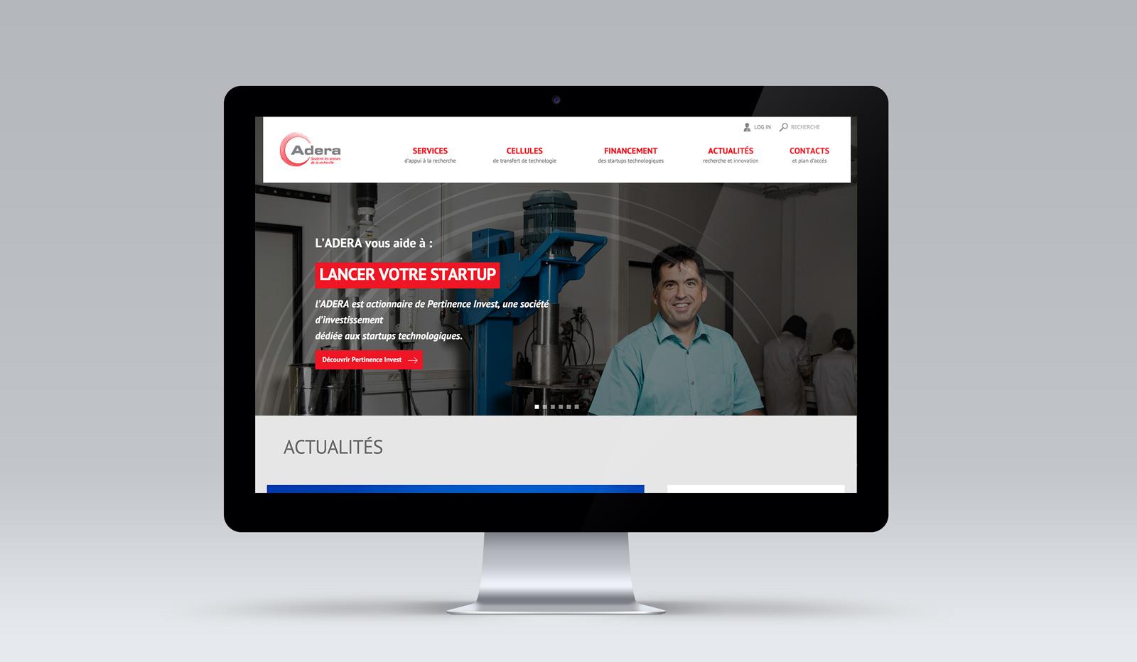 ADERA : Lancement d'un nouveau site web