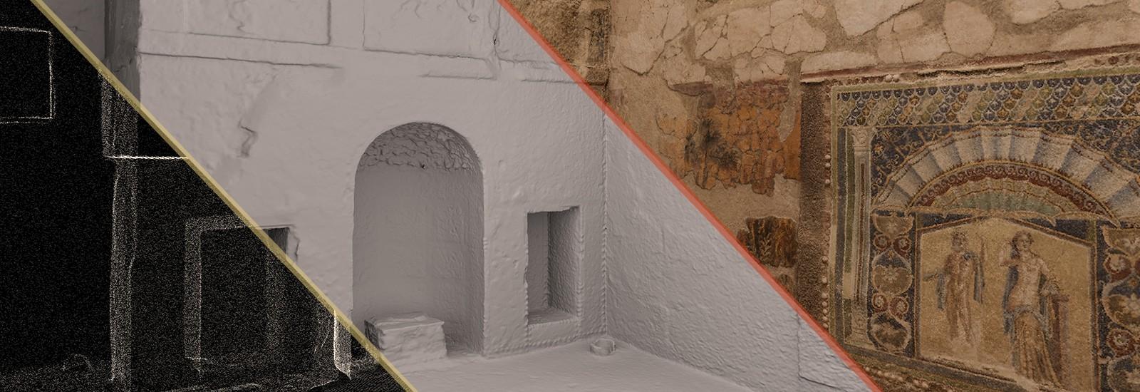 Archeotransfert 3D modélisation archéologie Aquitaine