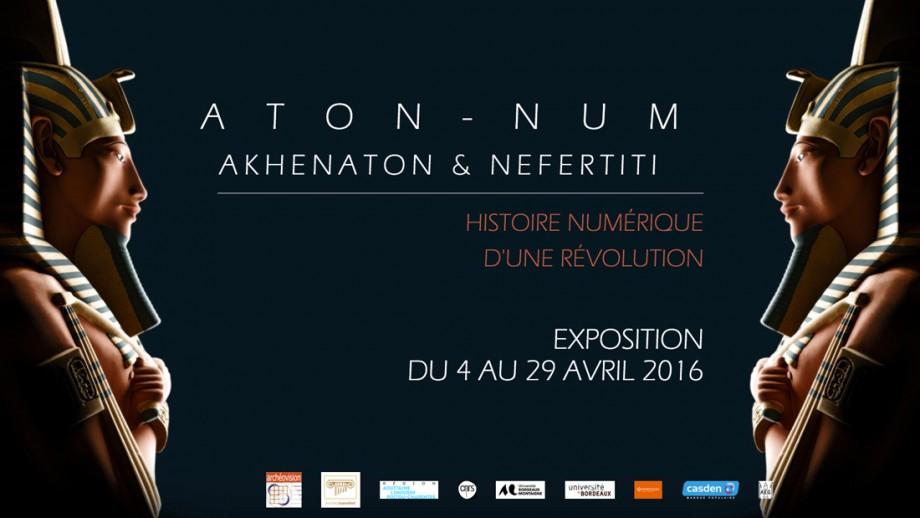exposition aton num akhenaton nefertiti